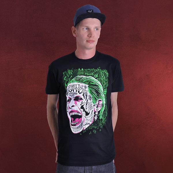 Suicide Squad - Joker T-Shirt schwarz