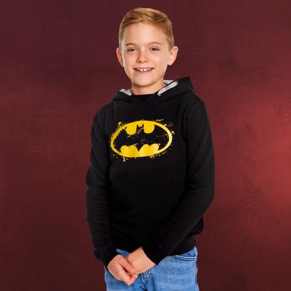 Batman - Logo Kinder Hoodie schwarz