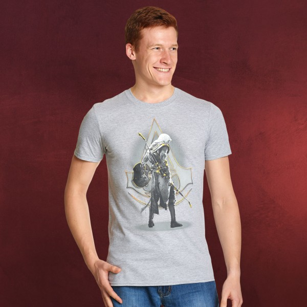 Assassins Creed - Bayek T-Shirt grau