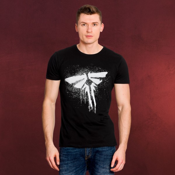 The Last of Us - Fireflies Logo T-Shirt schwarz