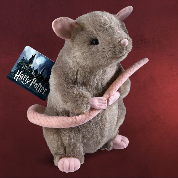 Harry Potter - Ratte Krätze Plüsch Figur 28 cm