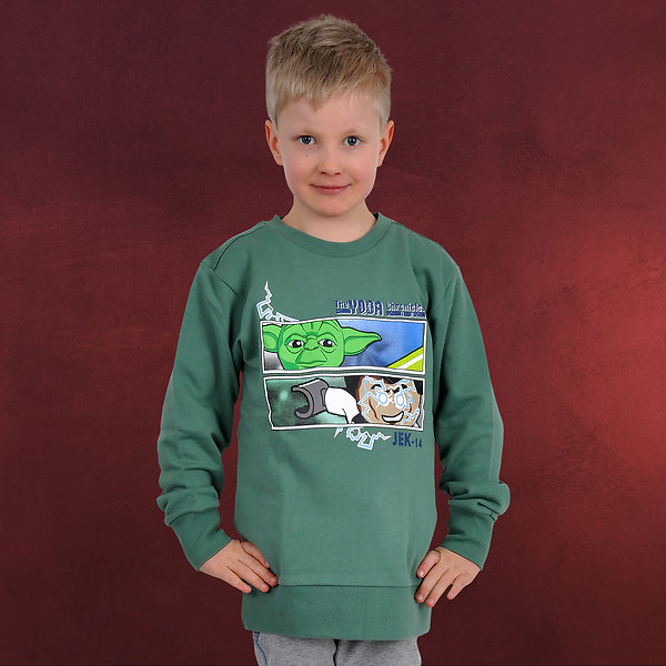 LEGO Star Wars - Yoda Chronicles Sweatshirt für Kinder grün