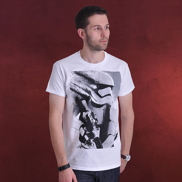 Star Wars - Stormtrooper Splatter T-Shirt weiß