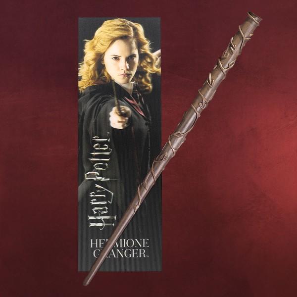 Hermine Zauberstab für Jungzauberer mit Lesezeichen - Harry Potter