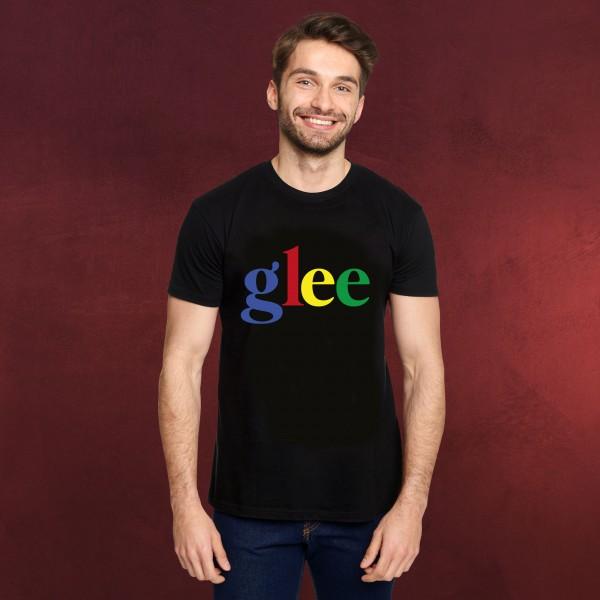 Color Code Logo T-Shirt für Glee Fans schwarz