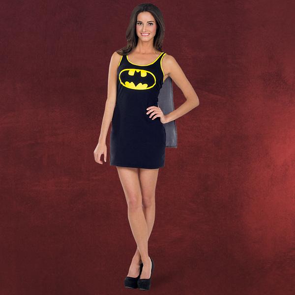 Batgirl - Kostümkleid mit Umhang