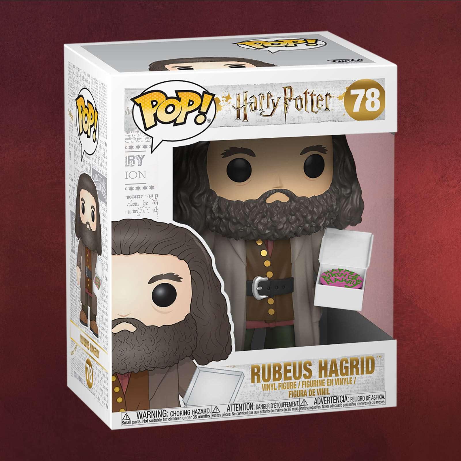 Harry Potter Hagrid Mit Kuchen Funko Pop Figur 14 Cm Elbenwald