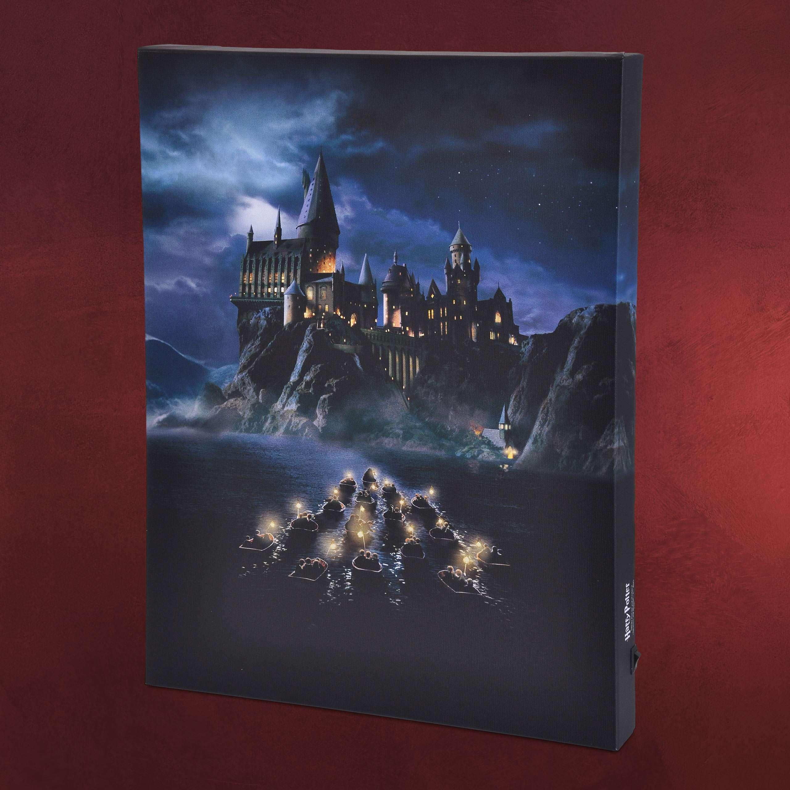 con di luceElbenwald Hogwarts Murale Potter Harry BdCexo