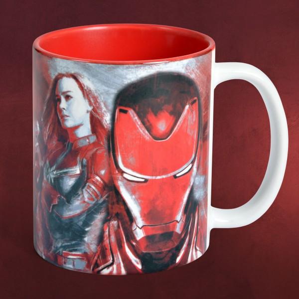 Avengers - Endgame Heroes Collage Tasse