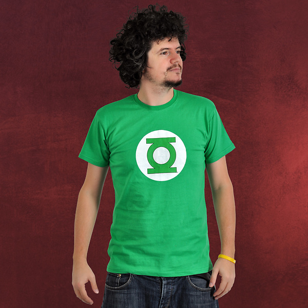 Green Lantern Logo T-Shirt mit Box