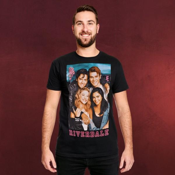 Riverdale - Bughead & Varchie T-Shirt schwarz
