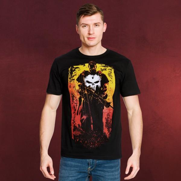 Punisher - Frank Castle T-Shirt schwarz