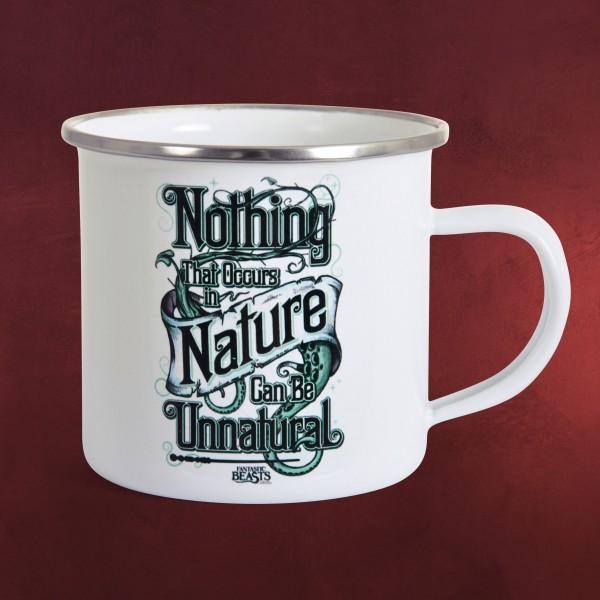 Phantastische Tierwesen - Nature Tasse Emaille