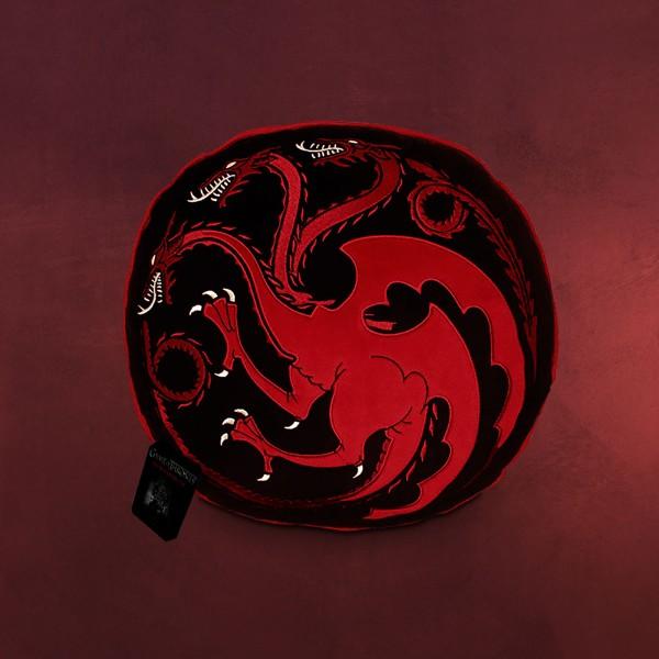 Game of Thrones - Targaryen Wappen Kissen