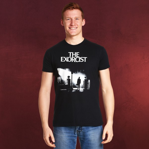 Der Exorzist - Poster T-Shirt schwarz
