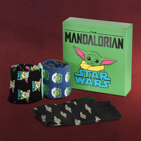 The Child Socken 3er Set - Star Wars The Mandalorian