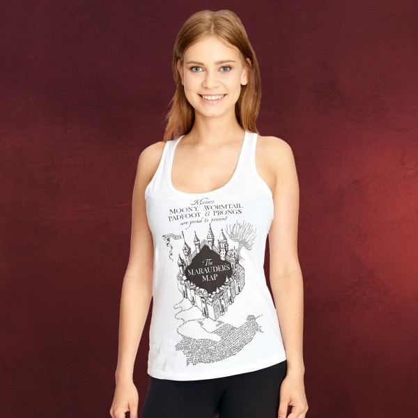 Harry Potter - Karte des Rumtreibers Tank Top