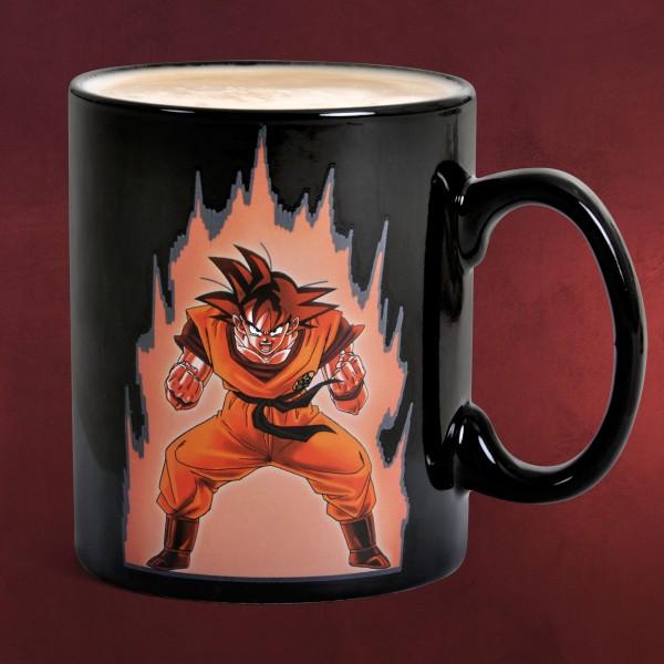 Dragon Ball - Son Goku Shenlong Thermoeffekt Tasse