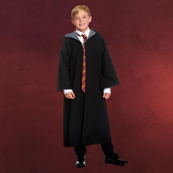 Zauberer Kinder Kostüm Robe mit Kapuze für Harry Potter Fans