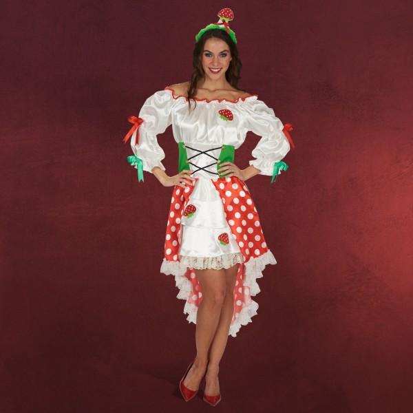 Glückspilz - Kostüm Kleid Damen