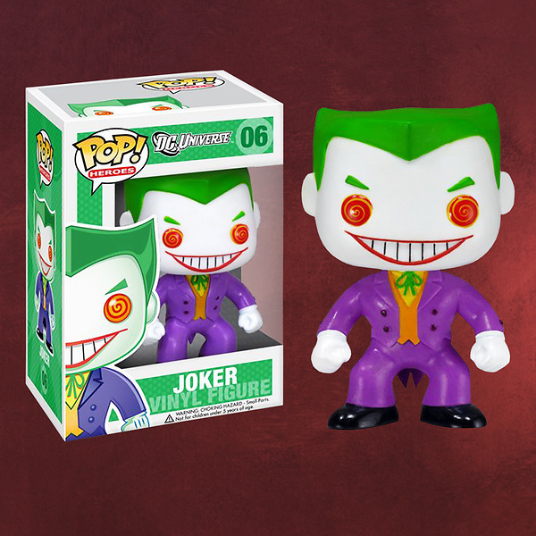 Batman - Joker Pop Heroes Mini-Figur