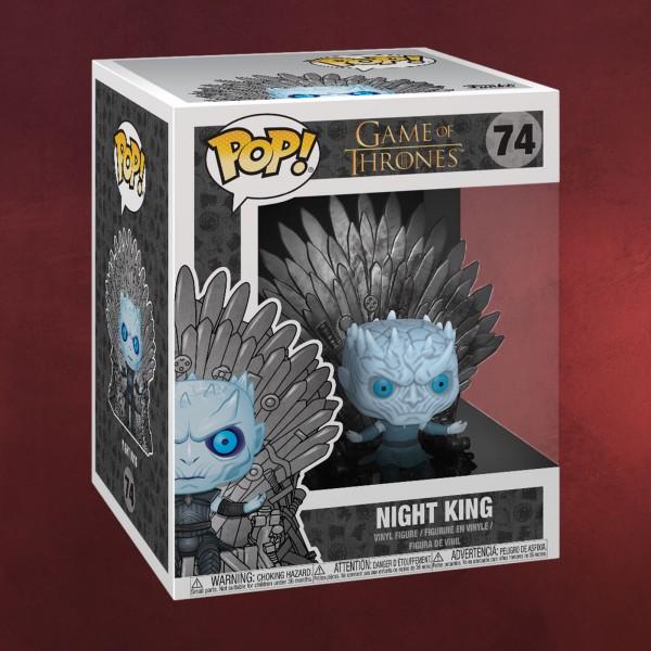 Game of Thrones - Nachtkönig mit Eisernem Thron Funko Pop Figur