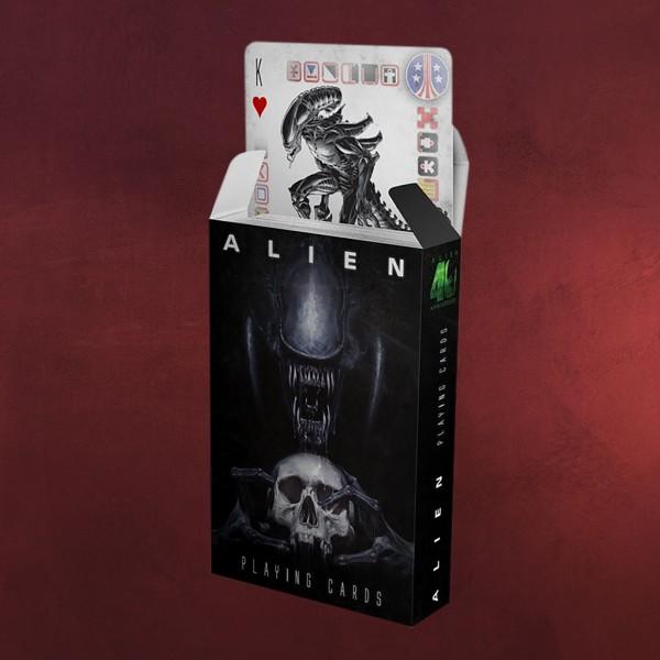 Alien Spielkarten