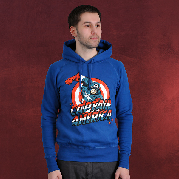 Captain America Hoodie Deluxe