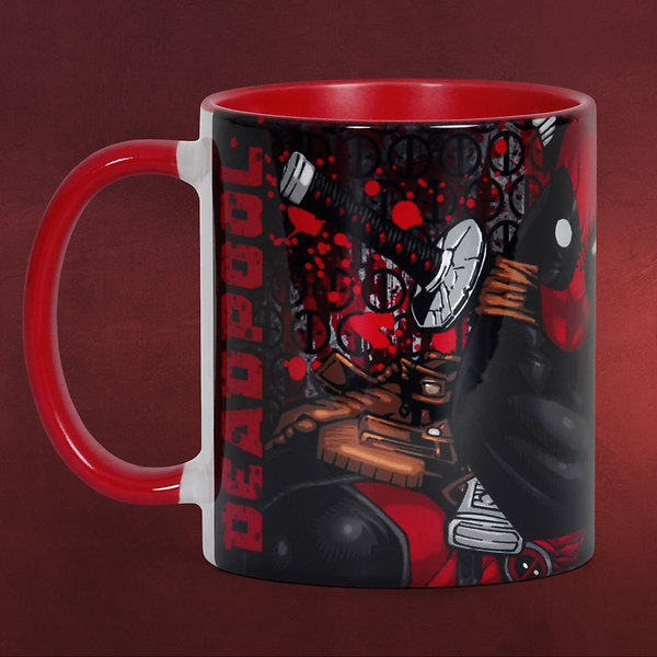 Deadpool - Comic Tasse rot