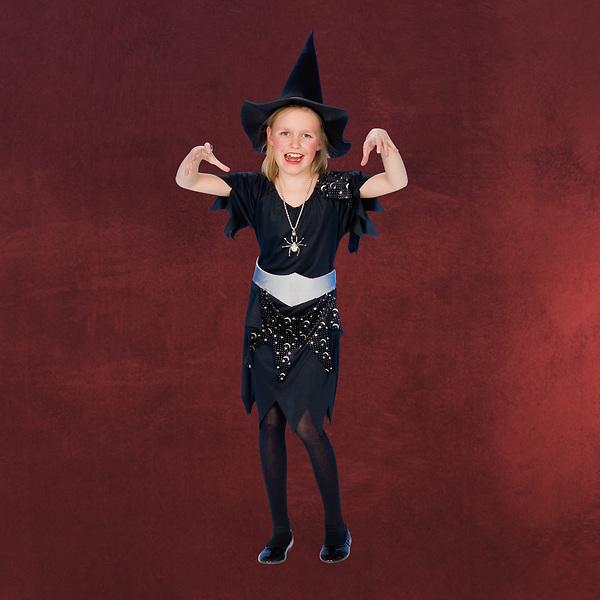 Schwarze Hexe - Kinderkostüm