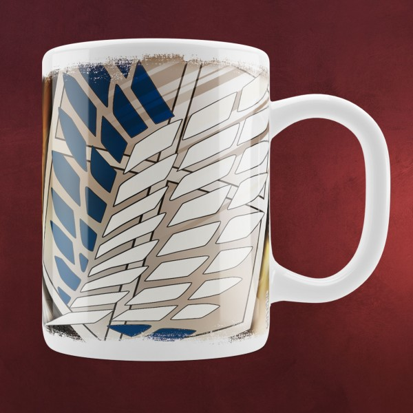 Attack on Titan - Survey Corps Soldiers Tasse