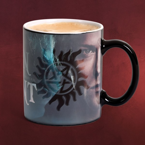 Supernatural - Sam und Dean Thermoeffekt Tasse