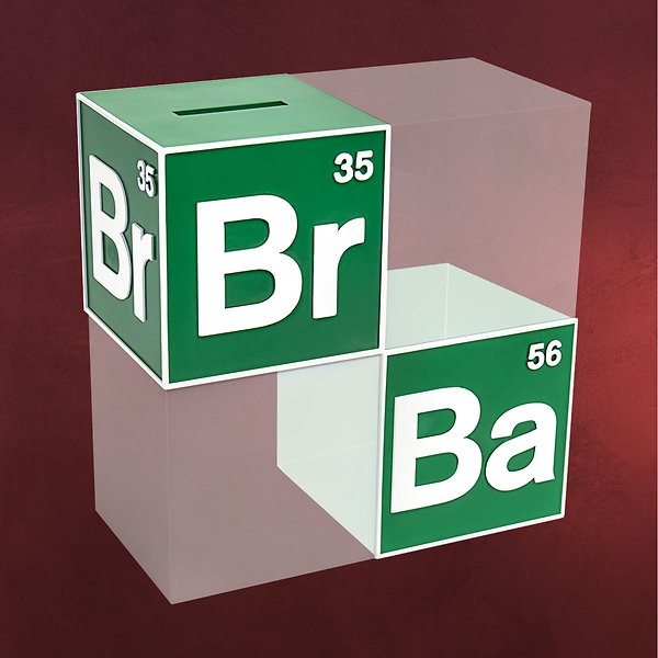 Breaking Bad - Logo Spardose
