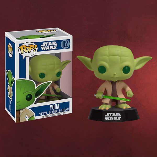 Star Wars - Meister Yoda Wackelkopf-Figur