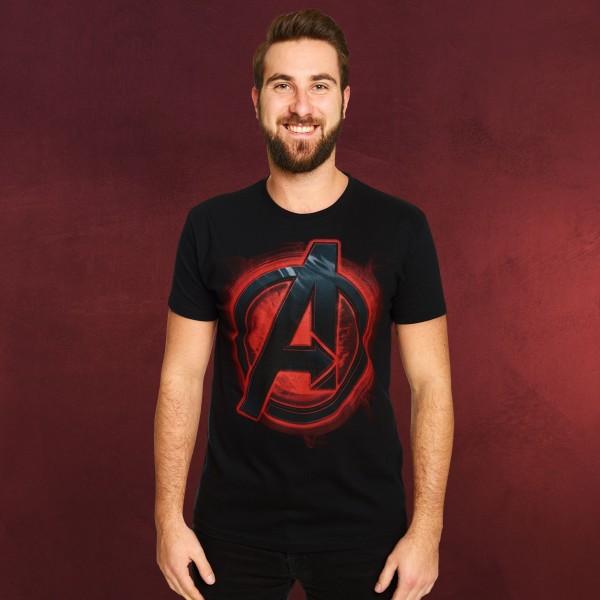 Avengers - Logo T-Shirt schwarz
