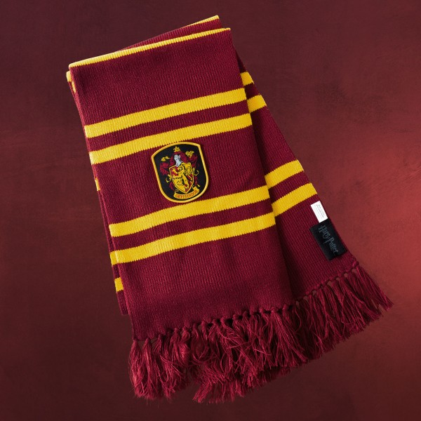 Harry Potter - Gryffindor Strickschal gelb-rot