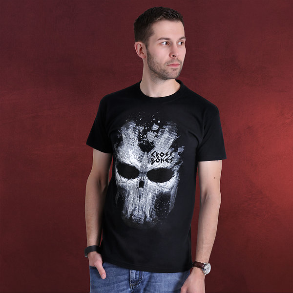 Captain America - Crossbones Mask T-Shirt schwarz