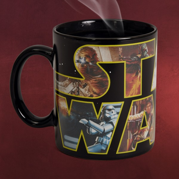 Star Wars - Logo Thermoeffekt Tasse