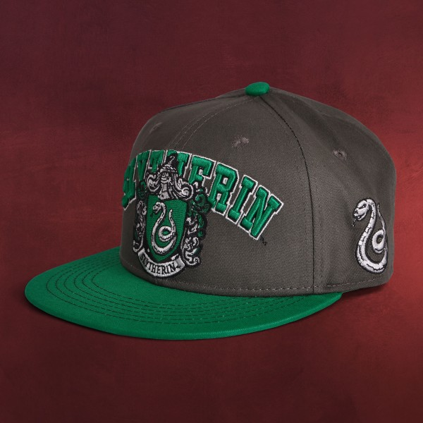 Harry Potter - Slytherin College Snapback Cap