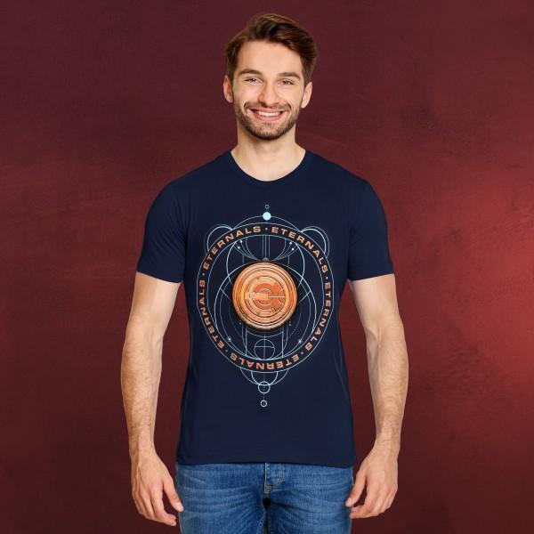 Eternals - Discs T-Shirt blau