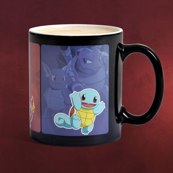 Pokemon - Starter Pokemon Thermoeffekt Tasse