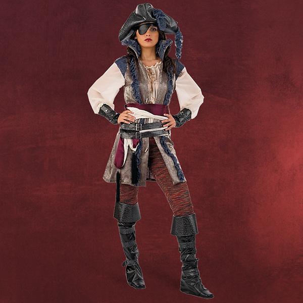 Freibeuter - Piratenkostüm Damen