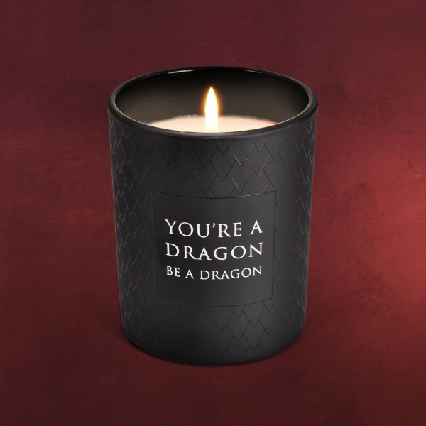 Game of Thrones - Be a Dragon Kerze im Glas