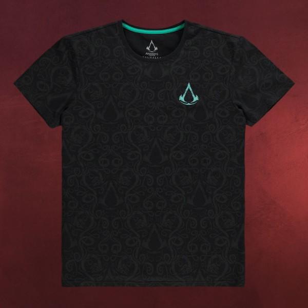 Assassin's Creed - Valhalla Nordic T-Shirt schwarz