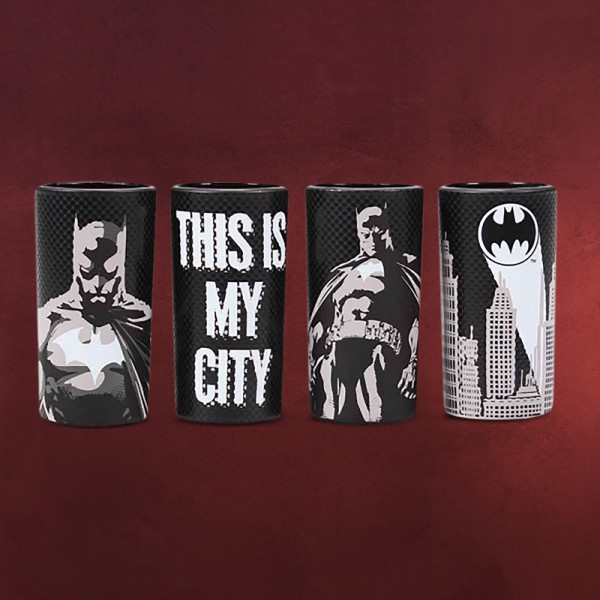 Batman - This is My City Shots Gläserset