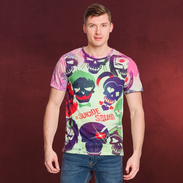 Suicide Squad - Skull T-Shirt