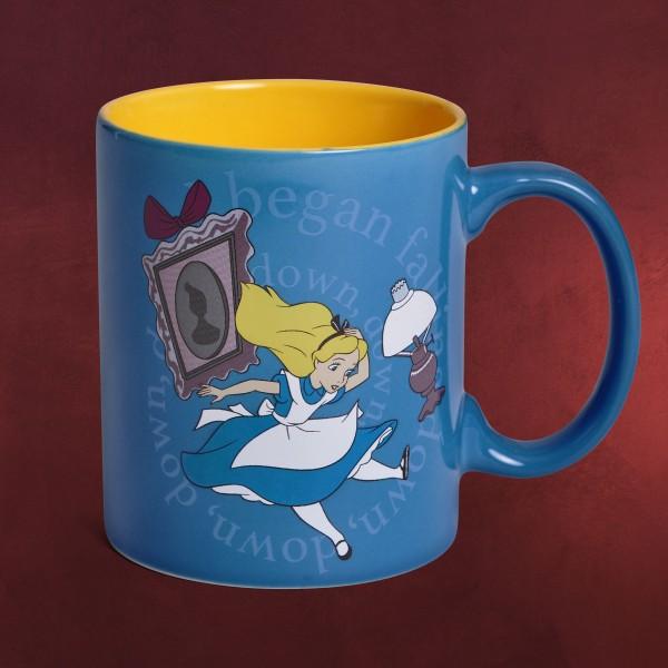 Alice im Wunderland - Falling Down Tasse