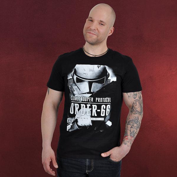 Star Wars - Clone TrooperOrder 66 T-Shirt schwarz