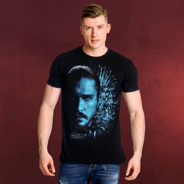 Game of Thrones - Jon Winter is Here T-Shirt schwarz