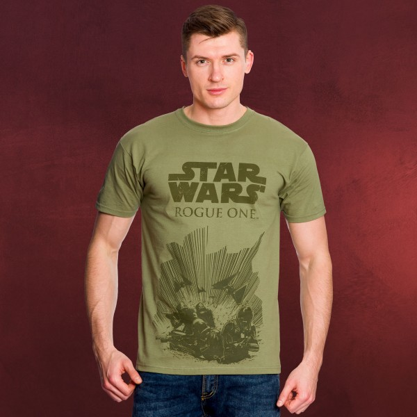 Star Wars T-Shirt - Death Trooper Rogue One Action